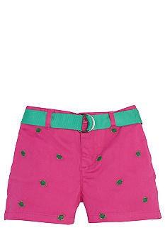 Ralph Lauren Childrenswear Embroidered Chino Short