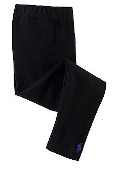Ralph Lauren Childrenswear Black Solid Legging