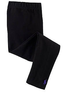Ralph Lauren Childrenswear Black Solid Legging