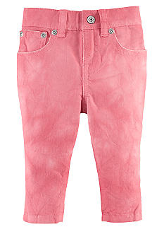 Ralph Lauren Childrenswear Watercolor Cropped Skinny Jean