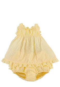 Ralph Lauren Childrenswear Tiered Ruffle Eyelet Dress