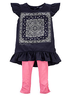 Ralph Lauren Childrenswear Bandanna Tee and Legging Set