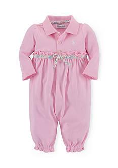 Ralph Lauren Childrenswear Interlock Classic 1-Piece Coverall