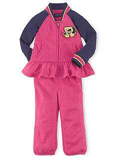 Ralph Lauren Childrenswear Varisty Hookup Set