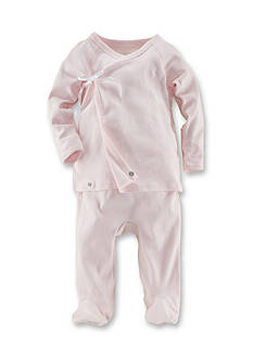 Ralph Lauren Childrenswear Solid Kimono 2-Piece Set
