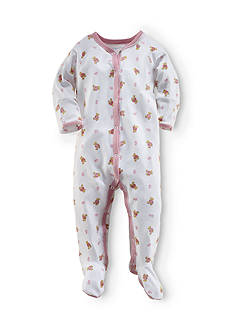 Ralph Lauren Childrenswear Bear Printed Coverall