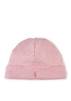 Ralph Lauren Childrenswear Stripe Beanie Toddler Girls