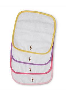 Ralph Lauren Childrenswear Cotton Terry Wash Cloth