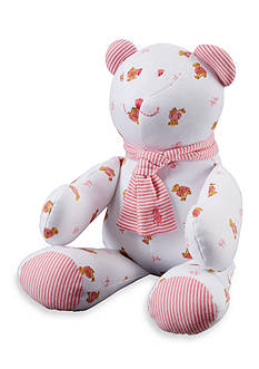 Ralph Lauren Childrenswear Printed Teddy Bear with Scarf