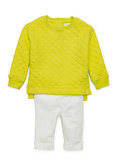 Ralph Lauren Childrenswear 2-Piece Knit Top and Pant Set