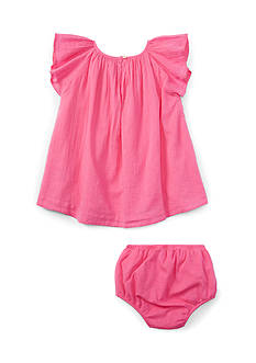 Ralph Lauren Childrenswear 2-Piece Sundress and Bloomer Set - Baby/Infant Girl