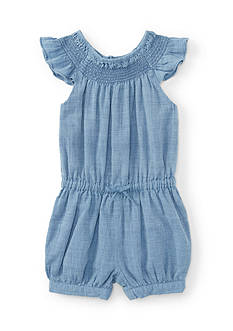 Ralph Lauren Childrenswear Chambray Romper