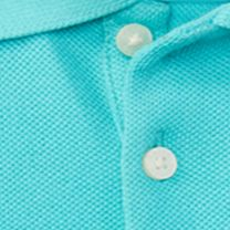Baby & Kids: Ralph Lauren Childrenswear All Dressed Up: Clearly Aqua Ralph Lauren Childrenswear 3MESH-SL POLO-DRS-KNIT CLEARLY AQUA