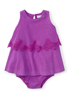 Ralph Lauren Childrenswear 2-Piece Boho Dress and Bloomer Set