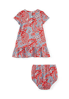 Ralph Lauren Childrenswear Paisley Dress - Baby/Infant Girl