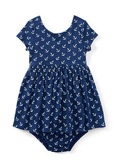 Ralph Lauren Childrenswear Anchor Dress - Baby/Infant Girl