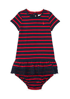 Ralph Lauren Childrenswear Stripe Dress - Baby/Infant Girl