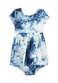 Ralph Lauren Childrenswear Tie Dye T-Shirt Dress- Baby/Infant Girl