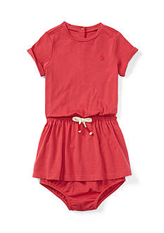 Ralph Lauren Childrenswear Bow Tie Dress - Baby/Infant Girl
