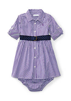 Ralph Lauren Childrenswear Stripe Dress Baby/Infant Girl