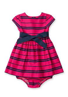 Ralph Lauren Childrenswear Woven Sateen Dress Baby/Infant Girl