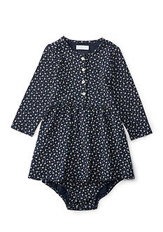 Ralph Lauren Childrenswear Button Front Jersey Dress Baby/Infant Girl