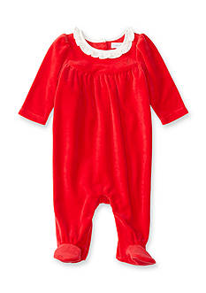 Ralph Lauren Childrenswear Velour Coverall