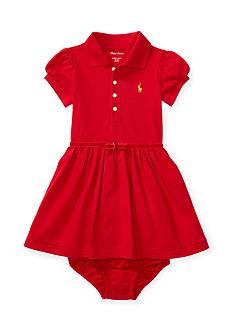 Ralph Lauren Childrenswear Stretch Mesh Polo Dress