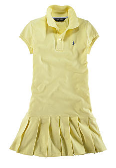 Ralph Lauren Childrenswear Polo Dress Toddler Girls