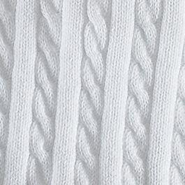 Toddler Girl Clothes: White Ralph Lauren Childrenswear 10 LS CTN CRDGN SWTR