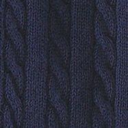 Toddler Girl Clothes: French Navy Ralph Lauren Childrenswear 10 LS CTN CRDGN SWTR