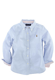 Ralph Lauren Childrenswear Oxford Shirt Toddler Girls