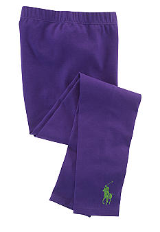 Ralph Lauren Childrenswear Big Pony Leggings Toddler Girls