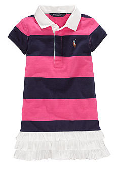 Ralph Lauren Childrenswear Rugby Polo Dress Toddler Girls