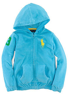 Ralph Lauren Childrenswear Terry Hoodie Toddler Girls