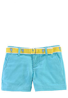 Ralph Lauren Childrenswear Tissue Chino Short Toddler Girls