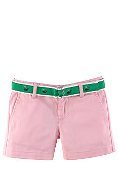Ralph Lauren Childrenswear Preppy Chino Short Toddler Girls