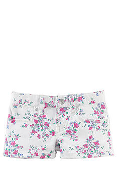 Ralph Lauren Childrenswear Floral Print Denim Short Toddler Girls