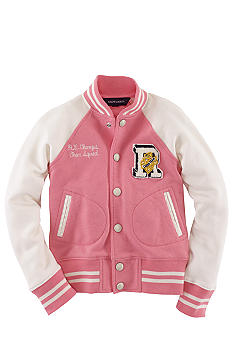 Ralph Lauren Childrenswear Varsity Jacket Toddler Girls