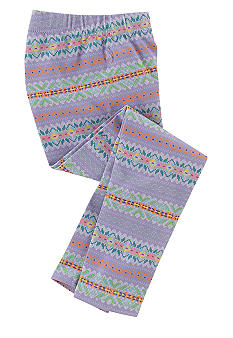Ralph Lauren Childrenswear Striped Fair Isle Legging Toddler Girls