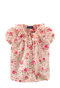 Ralph Lauren Childrenswear Floral Smock Shirt Toddler Girls