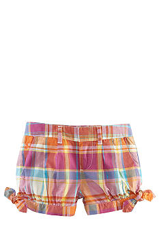 Ralph Lauren Childrenswear Madras Pleated Short Toddler Girls