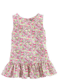 Ralph Lauren Childrenswear Floral Print Tunic Toddler Girl