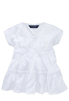 Ralph Lauren Childrenswear Knit Jersey Top Toddler Girl