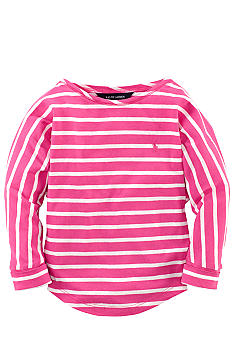 Ralph Lauren Childrenswear Striped Knit Top Toddler Girls