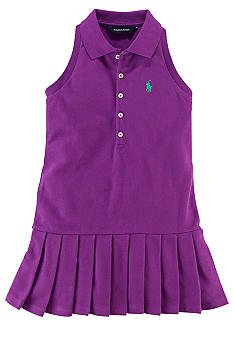 Ralph Lauren Childrenswear Preppy Polo Dress Toddler Girls