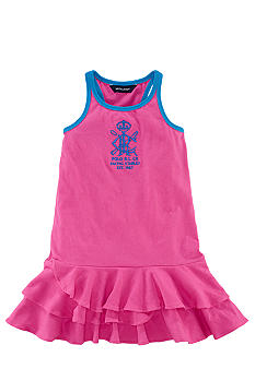 Ralph Lauren Childrenswear Tiered Ruffle Tank Dress Toddler Girls
