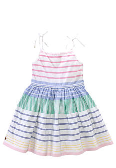 Ralph Lauren Childrenswear Striped Tie-Strap Dress Toddler Girls