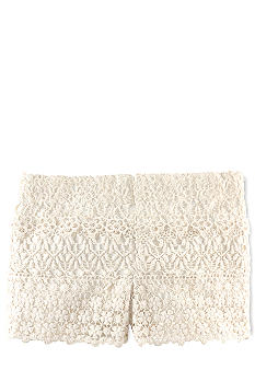 Ralph Lauren Childrenswear Crocheted-Lace Short Toddler Girls
