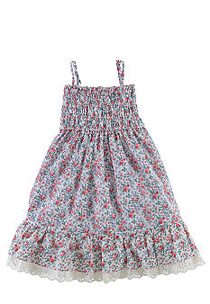 Floral Babydoll Dress Toddler Girls